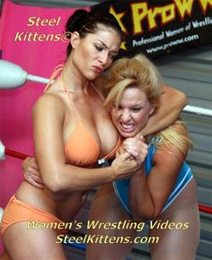 Some of our beautiful women of wrestling have graced rings across the world, performing in various federations like TNA, WWE, WCW and ECW. These athletes are skilled in art of pro style wrestling holds, throws and flying maneuvers. Their theatrics and athleticism are the fundamentals of pro wrestling entertainment and are sure to entice you.