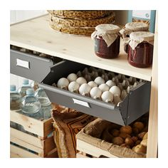 IVAR Shelving unit with drawers - IKEA