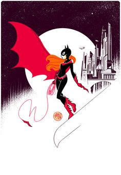 Pinup Arena • mikemaihack: This was the Batgirl I drew for...