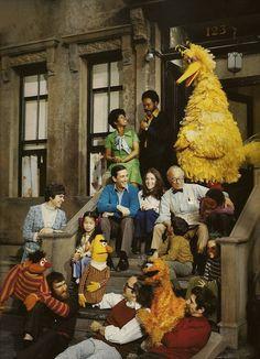 Old School Sesame Street Cast