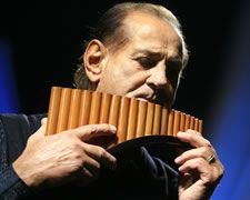 Zamfir - the living God of the pan flute.