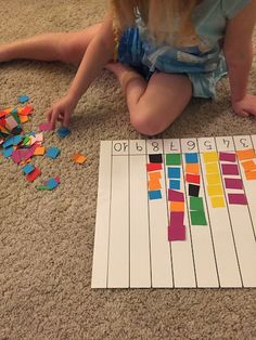 Numbers Preschool, Kindergarten Math Worksheets, Toddler Learning Activities, Preschool Learning Activities, Fun Learning, Preschool Activities, Preschool Journals, Math For Kids, Kids Education
