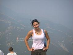 Good at walking along walls #greatwalker #greatwallofchina