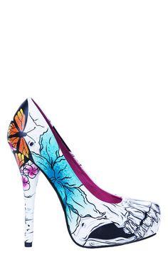 4f5572c5acd4f3 Iron Fist Ladies ♥ Out of Chaos Platform – Iron Fist International Online  Fashion Retailer   Footwear - Apparel - Accessories · Skull HeelsSteampunk  ...