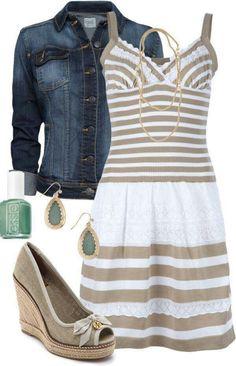 LOLO Moda: Cute summer fashion I need to find where to get this dress! Fashion Moda, Look Fashion, Womens Fashion, Fashion News, Grunge Fashion, Ladies Fashion, Teen Fashion, Korean Fashion, Fashion Outfits