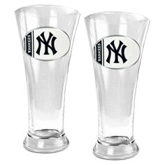 MLB 19oz. Pilsner Glass (Set of 2)  by Great American Products