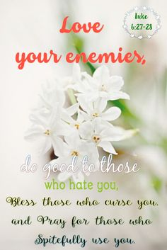 Luke 6:27-28|<3<3  Please Visit  http://www.edenscorner.com/#!inspiration/cpza | A Healthy Place To Visit  <3<3 |