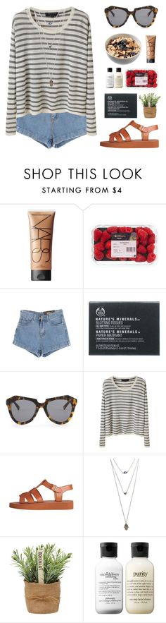 """They Lost Their Minds"" by cigerett on Polyvore featuring NARS Cosmetics, Chicnova Fashion, The Body Shop, Karen Walker, rag & bone, Wet Seal and philosophy"