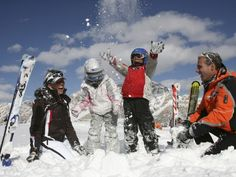 For Italians, going to the mountains for a ski vacation is a family thing