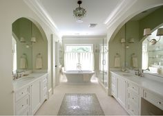 separate his/her bathroom