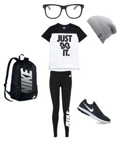 """""""Long car rides"""" by sammyduerr on Polyvore featuring NIKE, STELLA McCARTNEY and The North Face"""