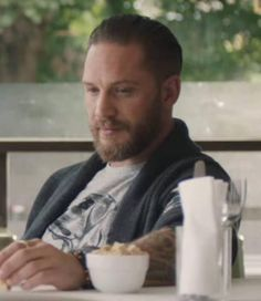 "Tom Hardy - SKY Mobile advert | ""'Roll your data""."