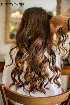 curls for wedding day hair style