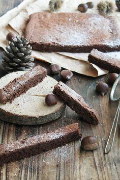 Fondant chocolat marron à l'huile d'olive {sans gluten- sans lait} - aime & mange