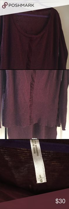 Free people sweater Free people light sweater Free People Tops Tunics