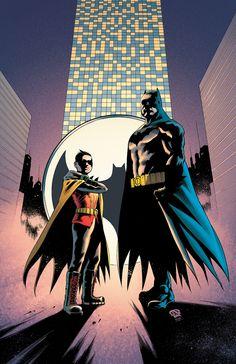 Batman and Robin Vol. Death of the Family (The New (Batman and Robin: The New Batman Robin, I Am Batman, Superman, Comic Book Characters, Comic Books Art, Comic Art, Book Art, Dave Gibbons, Dc Comics