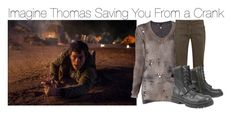 """""""Imagine Thomas Saving You From a Crank"""" by fandomimagineshere ❤ liked on Polyvore featuring Avant Toi and Weekend Max Mara"""