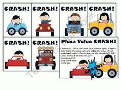Place Value CRASH! from 1st Grade Teacher on TeachersNotebook.com -  (5 pages)