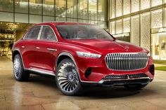 Vision Mercedes-Maybach electric Ultimate Luxury unveiled at the Auto China 2018 car show in Beijing. The Vision Mercedes-Maybach Ultimate LuxuryPowered by an all-wheel-drive electric system capable of a 550 kW hp) output, has a range of Mercedes Benz Maybach, New Mercedes, Maybach Car, Rolls Royce, Automobile, Car Repair Service, Luxury Suv, Motorcycle Design, Limousine