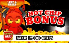 ☆☆☆ Hot Chip Bonus ☆☆☆ More Free Chips Here! > https://apps.facebook.com/slotbuster?utm_source=fanpage&utm_medium=HotChipBonus&utm_campaign=11292016&bonusPackId=20467 < Collect Now #slotgames