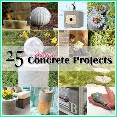 25 Creative Concrete Projects
