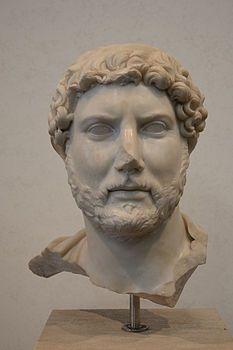 Busto in marmo di Adriano 117 d. C. Museo nazionale romano , Roma