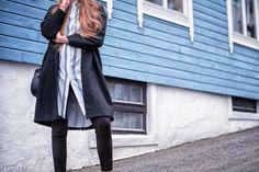 shirt dress blogger