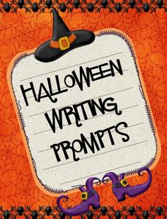"FREE LANGUAGE ARTS LESSON - ""Halloween Writing Prompts and Stationery"""