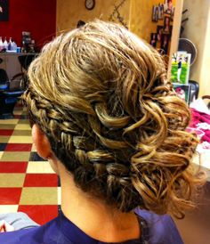 Braided #Hair Formal Updo - See the products used here: http://www.preen.me/look/59499014-braided-formal-by-anne-d