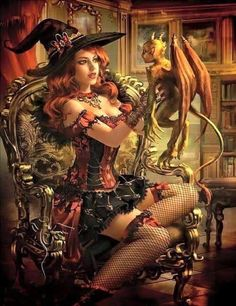"""Search Results for """"label/fantasy girl"""" – Pin Up and Cartoon Girls Art Fantasy Girl, Fantasy Witch, Chica Fantasy, Fantasy Art Women, Witch Art, Dark Fantasy Art, Fantasy Artwork, Beautiful Witch, Beltane"""