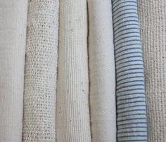 Organic Cotton Khadi Fabric /Indigo Blue by ShopEarthenColors