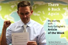 There and Back Again: My Journey with Gallagher's Article of the Week Assignment | Dave Stuart