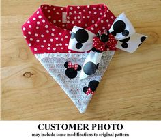 Bandana Pattern 1767 - Adorable and versatile dog bandana pattern for the little dog! Constructed of cotton and cotton blend fabrics, the dog bandana is fully lined using Velcro closures at the neck. Bandanas are a fun accessory to add to your dogs wardrobe. With this easy pattern you