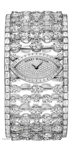 I can only dream <Harry Winston Diamond Watch> #repin
