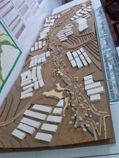 6to manizales plantamiento urb _ yanelly_arq Architecture Models, Academia, Architecture, Model Building, Architectural Models