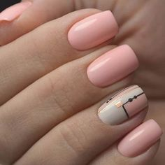 The Manicure Everyone Is Trying This Year : Fantastic pink nail polish Neutral Nail Polish, Pink Nail Polish, Pink Nails, My Nails, Hair And Nails, Nail Polishes, Cute Nail Colors, Cute Nails, Pretty Nails