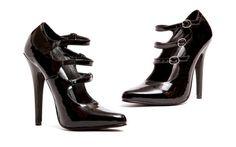 "5"" Heel Strappy Pump. Navy Marine, 5 Inch Heels, Clarks, High Heels, Pumps, Sandals, Boots, Leather, Accessories"