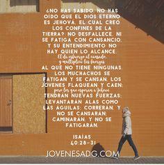 QUEBRANTADA Y REDIMIDA / Semana 2-Jueves    Devocional Isaias 40:28-31    #JovenesADG #ComunidadADG #QuebrantadayRedimida #EstudiosBiblicosparaJovenes #AmaaDiosGrandemente #Redencion #Dios #Quebranto