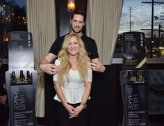 Joico's Celebrity Hairstylist Spokesperson, Paul Norton, demonstrates how to create gorgeous hair with Joico's NEW Hair Shake.