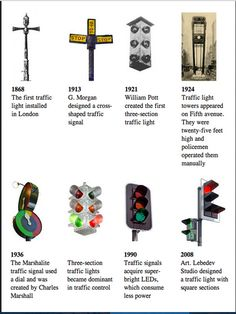 Facts History of Traffic Lights Traffic Signals
