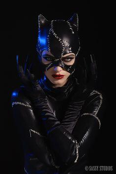 Cat woman - Love it.