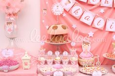 Lovely fairy girl birthday party! See more party ideas at CatchMyParty.com!