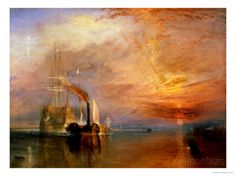 "The ""Fighting Temeraire"" Tugged to Her Last Berth to be Broken Up, Before 1839 Giclee Print by William Turner at AllPosters.com"