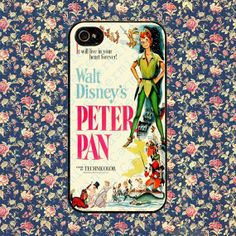 Peter Pan vintgae for iPhone 4, iPhone 4s, iPhone 5 /5s/5c, Samsung Galaxy S3, Samsung Galaxy S4 Case