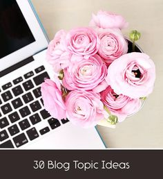 A month's worth of blog post ideas.