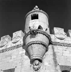 Torre de Belém, stadsdeel Belém, Lisboa. Wachtpost