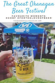 The Great Okanagan Beer Festival: Favourite Instagram moments #fortheloveofbeer in Kelowna, British Columbia, Canada. Typically known for it's wine, the Okanagan region is booming with breweries and beer festivals.