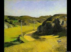 Road to Maine...by Edward Hopper 1914
