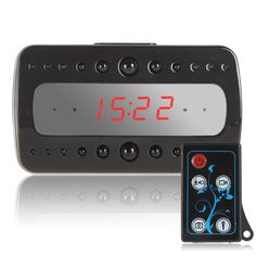 Full HD 1080P Remote Control Black Pearl RF Night Vision Hidden Spy Alarm Clock Camera - Wholesale Price,China Wholesale Electronics.Website: http://www.china-wholesale-electronics.com http://www.aoliwholesale.com