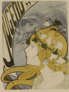 Jane Atche (1872-1937) Cover for Jugend